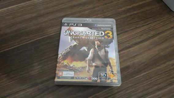 Uncharted 3 Drakes Deception Dublado Para Ps3