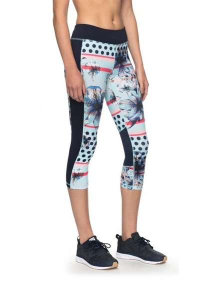 Calza Capri Fitness Spy Game Roxy - Dama