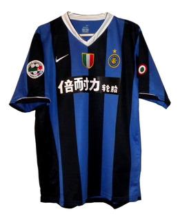 Camisa Internazionale Inter 2006/2007 Pirelli Em Chines