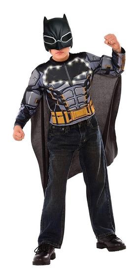 Disfraz Batman Con Luces Niños De 3 A 5 Años Halloween Nuevo