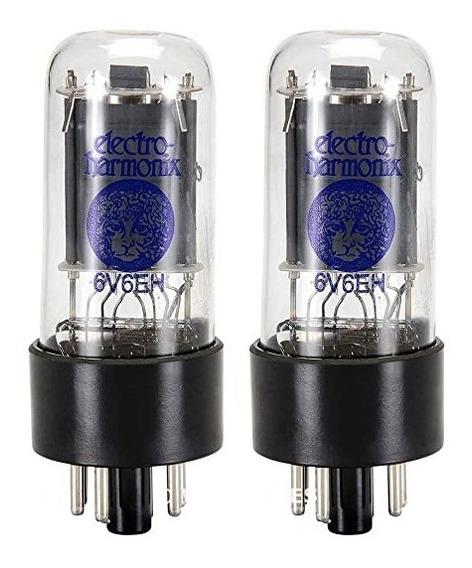 Valvulas 6v6 Gt Par Casado Electro Harmonix Russia Platinum