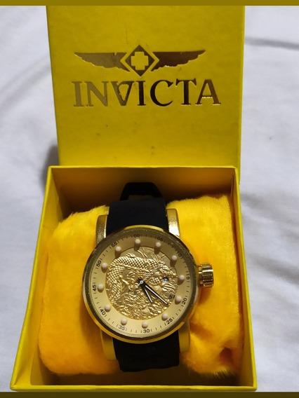 Relógio Invicta S1 Yakuza Pulseira Silicone Bateria