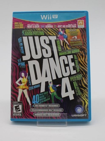Just Dance 4 Seminovo Wii U Mídia Física Original
