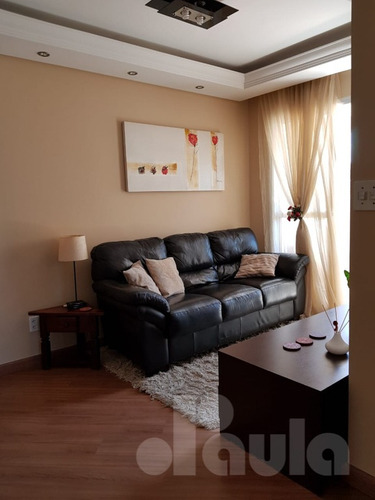 Imagem 1 de 14 de Apartamento Mobiliado 55m² Vila Guiomar Em Santo André - 1033-12069