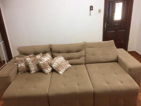 Sofa Reclinável Semi Novo E Balcão De Cozinha Novo