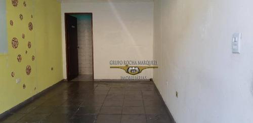 Salão Para Alugar, 25 M² Por R$ 700,00/mês - Vila Antonieta - São Paulo/sp - Sl0218