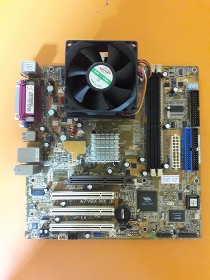 Placa Mae Asus A7v8x-mx - Socket 462 C/ Processador