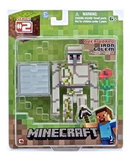 Juguete Muñecos De Minecraft Overworld Individual Accesorio