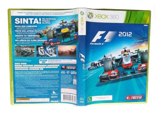 Fórmula 1 2012 - Xbox 360 Original Dublado Port.