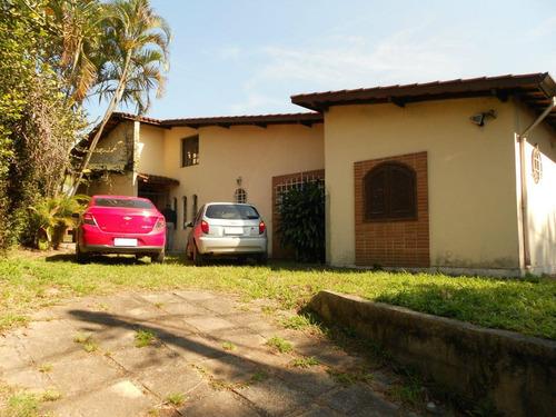 Casa  Em Excelente Ponto Comercial À Venda, Granja Viana, Km 23 Da Raposo Tavares, Cotia. - Ca12034