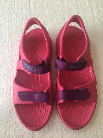 Crocs Importadas Tipo Sandalias.Casi Nuevas. J2