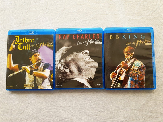 Blu-rays: Ray Charles B.b. King Jethro Tull - At Montreux