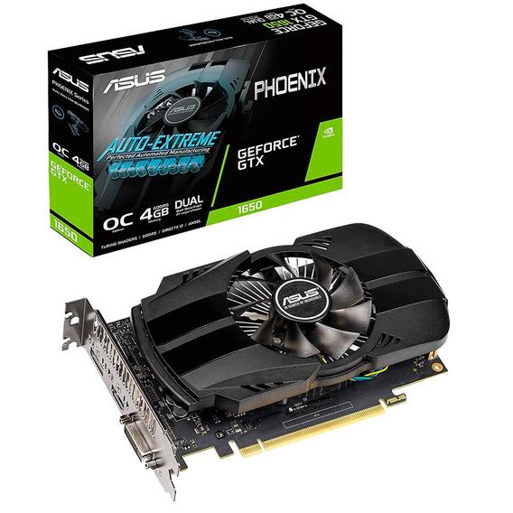 Placa De Video Geforce Gtx 1650 4gb Asus Phoenix Oc Mexx 4