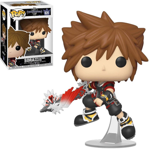 Boneco Funko Pop Kingdom Hearts Sora With Ultima Weapon 620