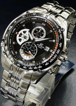 Relógio Casio Edifice Ef-543d Sebastian Vettel Pulso 18,5cm