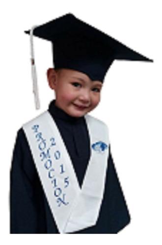 Alquiler De Toga Y Birrete Preescolar En Azul Oscuro