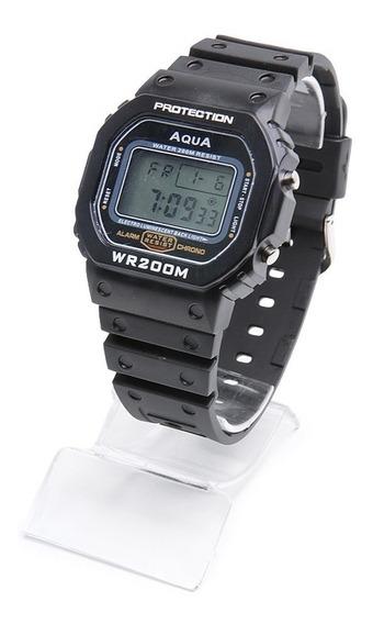 Relógio Aqua Gp519 Masculino Garantia E Nf Relógio Bolsonaro