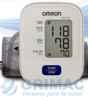 Tensiometro Digital Medidor De Presión Omron Brazo Hem 7120