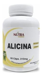 Alicina 60 Caps 310mg Nutra Essência