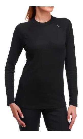 Kit Frio Segunda Pele Feminino Isolameto Térmico Blusa Calça