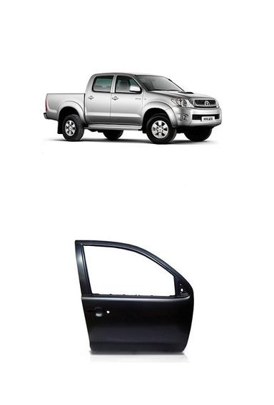 Porta Dianteira Toyota Hilux 2005 Á 2015 Cabine Dupla E Sw4