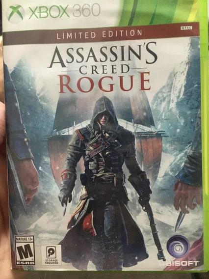 Jogo Xbox 360, Assassins Creed Rogue, Mídia Física. Usado.