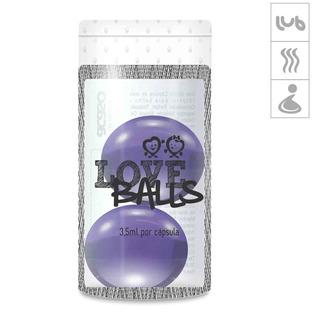 Bolinha Aromatizada Love Balls 2un - Lilás