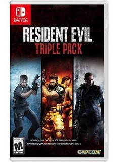 Resident Evil Triple Pack Nintendo Switch Entrega Inmediata!