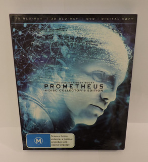 Blu Ray 3d Y 2d Prometheus Collector