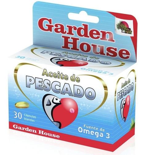 Garden House Aceite De Pescado X 30 Capsulas