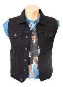 Colete Jeans Masculino Altíssimo Padrão Com 6 Bolsos Cr2