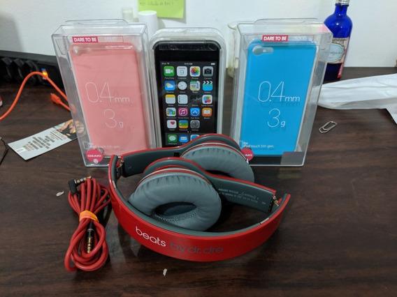 Apple iPod Touch Geração 5 16gb + Fone Beats Solo Hd + Capa