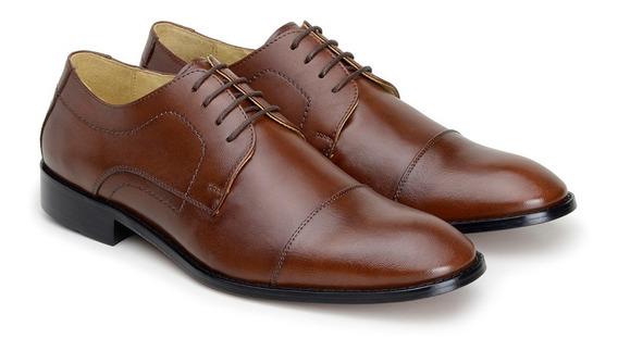 Sapatos Masculinos Social Veneza Whisky