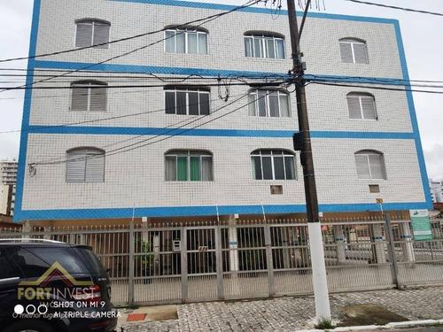 Imagem 1 de 18 de Apartamento Com 1 Dormitório À Venda, 50 M² Por R$ 160.000,00 - Vila Assunção - Praia Grande/sp - Ap2676