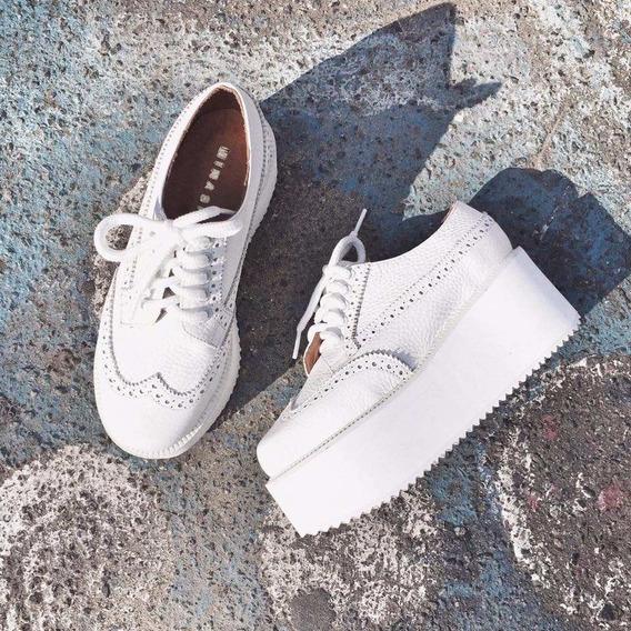 Mocasines Acordonados Zapatos Invierno 2017