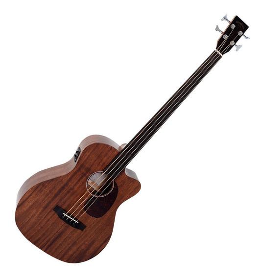 Bajo Electroacústico Sigma Guitars Bmc15fe Fretless - Oddity