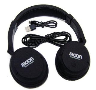 Auricular Inalambrico Bluetooth Moon Ma2400btb - La Roca - - Cuotas