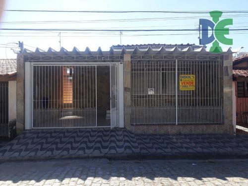 Casa Com 3 Dormitórios À Venda, 140 M² Por R$ 340.000,00 - Jardim Jacinto - Jacareí/sp - Ca0292