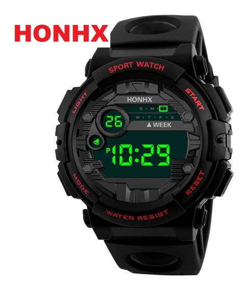 Relógio Masculino Infantil Honhx 62-x Digital 30m