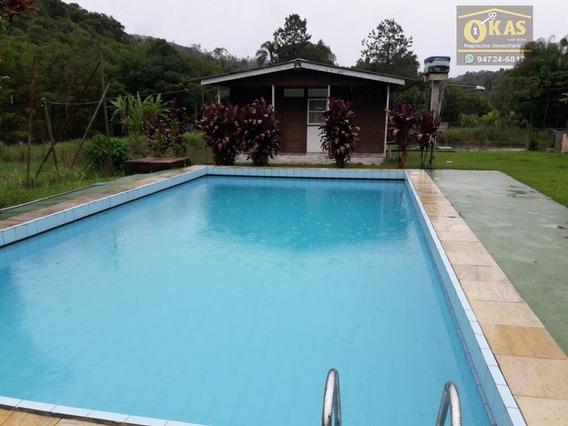 Sítio Rural À Venda, Quatinga, Mogi Das Cruzes. - Si0001