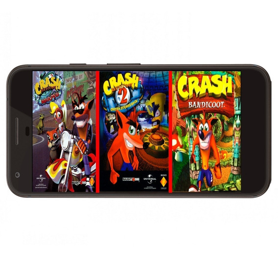 Crash Bandicoot 1, 2, 3, Team Racing Y Bash Ps1 Para Android