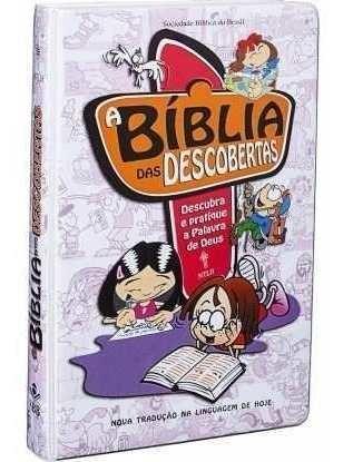 2 Biblias Das Descobertas Infanto Juvenil Cp Rosa E Marrom