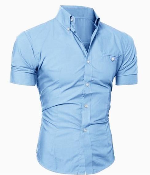 Camisa Caballero Slimfit #64 Denlinea