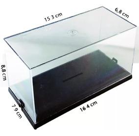 6 Caixas Plásticas Expositor Box Embalagem Acrílico 1/43