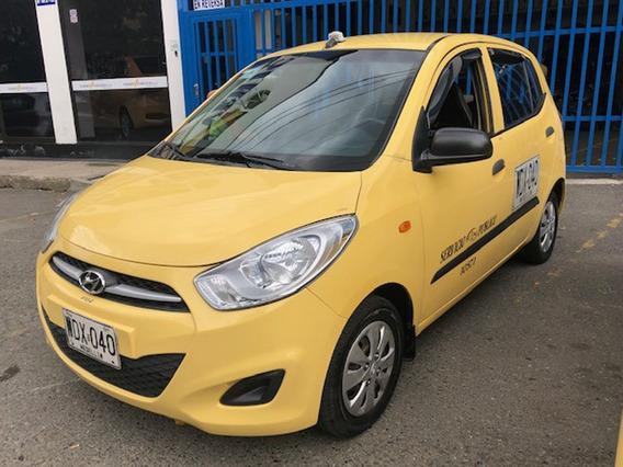 Taxi Hyundai I10 2014 Medellin Ctm, Recibo Usado O Cupo