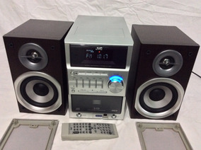 - Mini System Jvc Funciona Radio E Entradas - 80´s