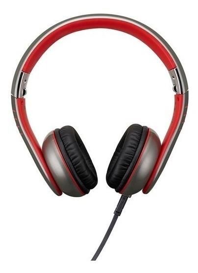 Fone De Ouvido Profissional Casio Xw H3 Vermelho Flexivel