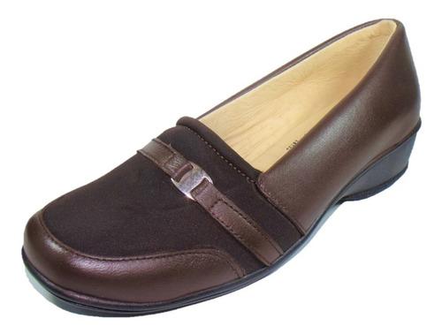 Imagen 1 de 7 de Zapato Cómodo Dama Pie Diabético O Delicado, Borrego Pn2014c