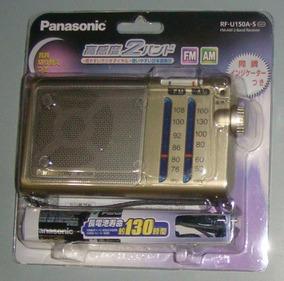Rádio Am Fm Panasonic Rf-u150a-s