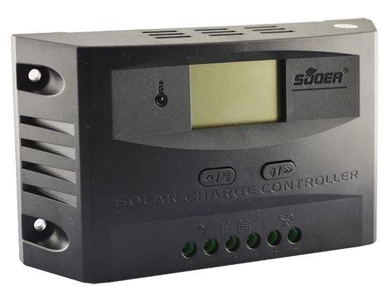 Controlador Pwm Fotovoltaico Solar 10a Carga Display Digital
